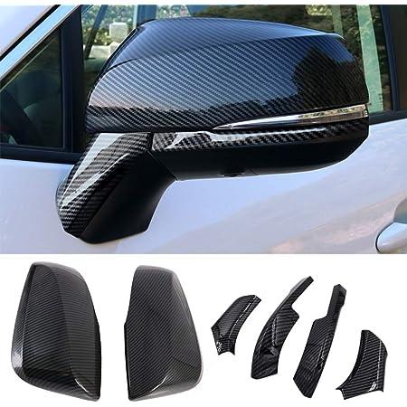 For 2019 2020 Toyota RAV4 Carbon Fiber Style Rear Window Wiper Cover Trim 3PCS