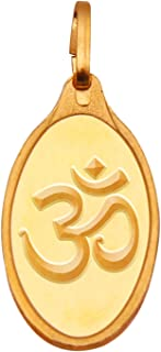 Kundan OM 24k(999.9) Yellow 2.7 gm Gold Pendant
