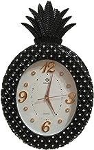 ساعة حائط انيقة على شكل أناناس لون اسود