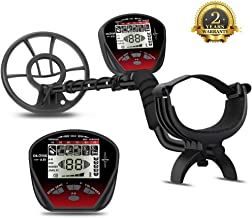 DR.ÖTEK Lightweight Metal Detector with Graphic Display, Multi-Function with Pinpointer, Easier to Find Valubles, Big Waterproof Coil for Greater Depth with Backlit LCD, Innovative Memory Mode