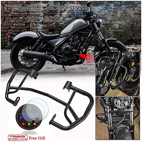Oro CMX500 CMX300 Motocicleta CNC Aluminio Tapa de la Cubierta del Protector del dep/ósito del l/íquido de Frenos Traseros para 2017 2018 2019 Honda Rebel CMX 300 500 Accesorios de Moto 17-19