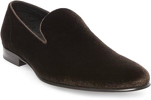Steve Madden Hommes's Laight Velvet Slip on Loafer, (marron, 12 US)
