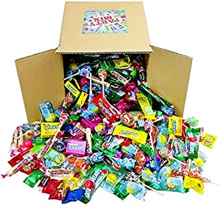 Assorted Candy Party Mix, Appx. 8 LB Bulk - Halloween Candy - OVER 450 Pieces - Fire Balls, Airheads, Jawbusters, Laffy Taffys, Tootsie Rolls and Much More of Your Favorite Candy!