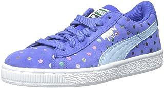 PUMA Suede Dotfetti JR Sneaker (Little Kid/Big Kid)