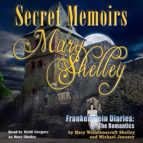 Secret Memoirs of Mary Shelley audiobook cover art