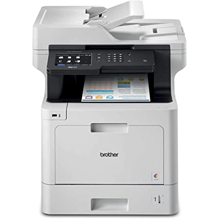 Brother MFC-L8900CDW Business Color Laser All-in-One Printer, Amazon Dash Replenishment Ready