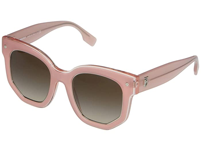 Burberry  0BE4307 (Opal Pink/Brown Gradient) Fashion Sunglasses