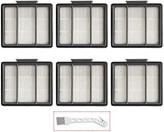 Lemige Replacement Filter 6 Pack Shark ION Robot R85 RV850 RV850BRN RV850WV ..