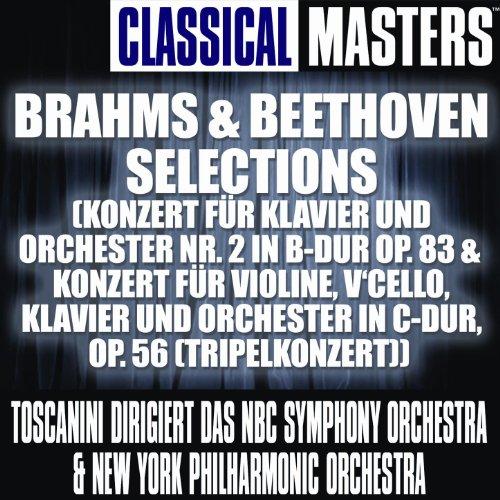 Classical Masters: Brahms & Beethoven Selections (Konzert Für Klavier Und Orchester Nr. 2 In B-Dur Op. 83 & Konzert Für Violine, V'Cello, Kl