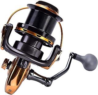 comprar comparacion Alomejor 1 Unid Carrete de Pesca, 12 + 1BB Fundición Metálica Mar Pesca Carrete Carrete de Pesca de Alta Velocidad Spinnin...