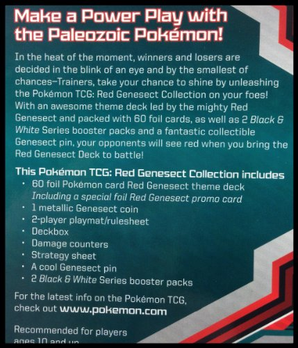 Pokemon - 331786 - Jeu De Cartes - Red Genesect Collection - C12
