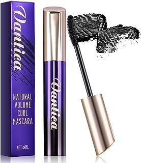 Vantica 4D Silk Fiber Lash Mascara Black Lash Extensions Voluminous Mascara Volume and Length,No Clumpy,No Smudges,No Flakes,Easy To Wash off,Long Lasting