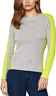 BCBG Max Azria Womens Crew Neck Long Sleeve Sweater