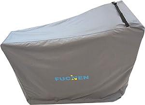 Funda protectora para bicicleta de ejercicio FUCNEN para bicicleta estática vertical antilluvia sol y polvo para el hogar almacenamiento exterior para proteger la bicicleta estática lejos de gato niño