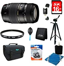 Tamron 70-300mm f/4-5.6 DI LD Macro Lens Pro Kit for Nikon AF with Built-in Motor Includes Bonus Xit 60