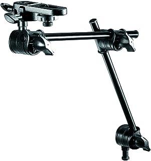 Manfrotto 196B-2 - Brazo para cámaras Digitales con espigote y Conector de cámara, 2 Secciones, Negro