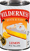 Wilderness Quick and Easy Lemon Cream Pie Filling and Topping, 15.75-Ounce (Pack of 6)