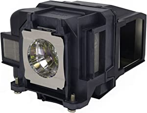 EX3220 Epson Projector Lamp Replacement. Projector Lamp Assembly with Genuine Original Ushio Bulb Inside.