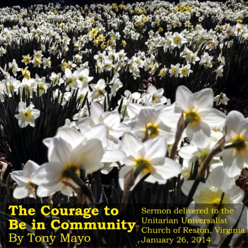 The Courage to Be in Community audiobook cover art