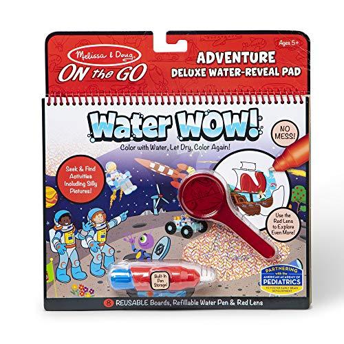 Melissa & Doug On The Go Water Wow! Tapis d'activité réutilisable de luxe - Adventure