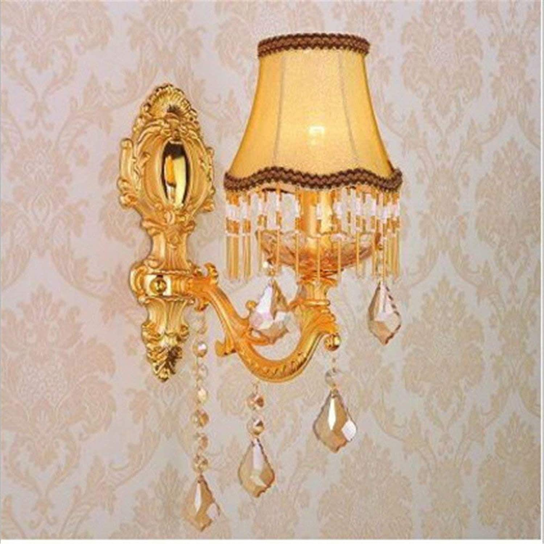 CWJ Wandleuchte -Bedside Lamp Candle Light Wand über dem Kopf der Strae Crystal Hotel Villa Zimmer Gang Tür Dekoration Licht