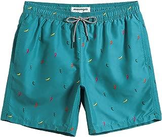 MaaMgic Mens Teen Short Swim Trunks Boys Quick Dry Beach...