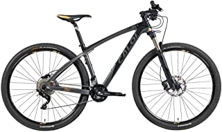 Bicicleta Mtb Caloi Carbon Ibex Aro 29 Tam P Preto