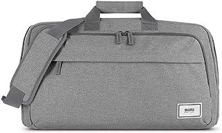 حقيبة تنقل وصالة الألعاب الرياضية قابلة لإعادة التدوير من سولو نيويورك، لون رمادي، مقاس واحد