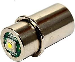 HQRP High Power 3w LED Bulb for Maglite 3D 4D 5D 6D / 3C 4C 5C 6C Cell Torch Flashlights Conversion Bulb Upgrade Plus HQRP...