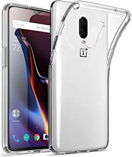 Protection Case Matte flexible plastic cover for OnePlus 6T (Clear)