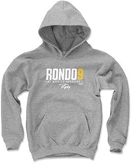 500 LEVEL Rajon Rondo Los Angeles Basketball Kids Hoodie - Rajon Rondo Elite
