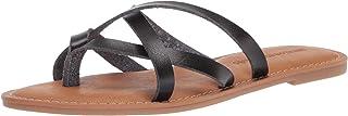 Amazon Essentials Sandales Plates À Lanières, Slides-Sandals Femme