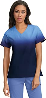 Lite Women's V-Neck Ombre Reform Scrub Top