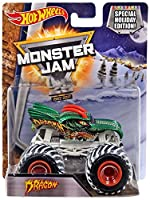 2015 Hot Wheels Monster Jam Special Holiday Edition Dragon Exclusive