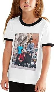 Dobre Brothers Cotton Girls Boys T Shirt Adolescent Youth Stylish Black