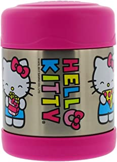 Thermos Vacuum Insulated Stainless Steel Food Jar, 10 Ounce - Tasteless and Odorless, BPA-Free, Great for Children – Ideal for Hot or Cold Foods, Fits in Most Lunchboxes, Hello Kitty