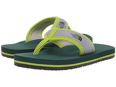 The North Face Kids Base Camp Flip-Flop (Toddler/Little Kid/Big Kid) (Lime Green/Botanical Garden Green) Boys Shoes