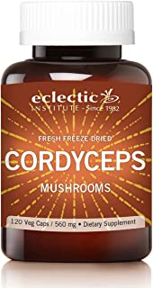 Eclectic Cordyceps FDV, Red, 120 Count