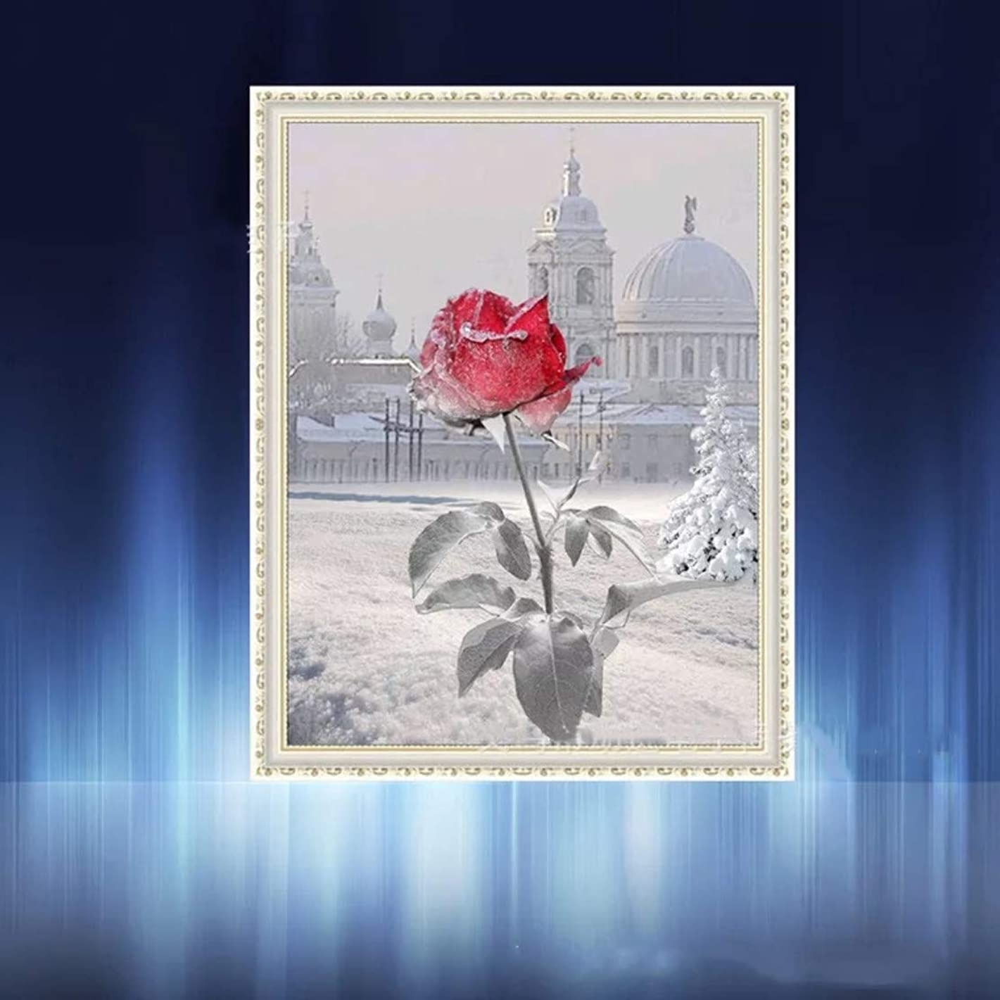 DIY 5D Diamond Painting Kit Full Diamond Rose Embroidery Square Resinstone Cross Stitch Arts Craft Supply for Home Wall Decori1j