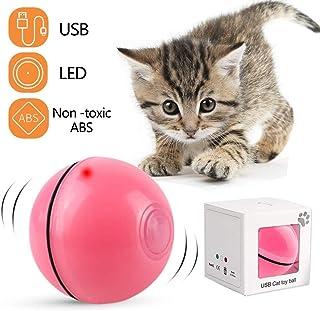 DIWUJI Bola de Gato, Juguetes para Gatos Pelotas, Carga USB