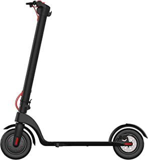 Henoh Electric Scooter, 10 inch Tire, 10 Miles Long-range PANASONIC Battery, Up to 15.5 MPH, Easy Fold and Carry Design, Ultra-Lightweight Aluminum Alloy