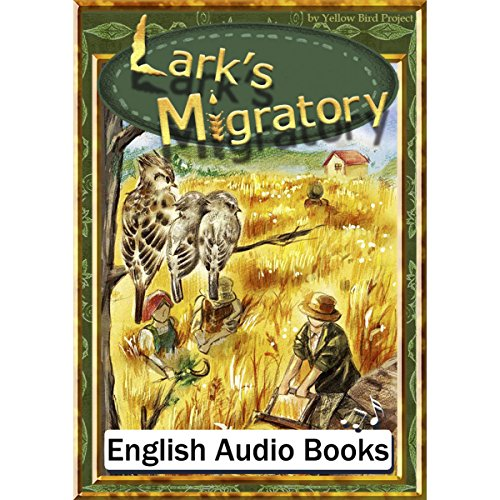 『Lark's Migratory(ヒバリのひっこし・英語版)』のカバーアート