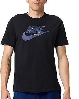 Nike Men's NSW Tee Camo 1, Black(Black/Midnight Navy010), Large