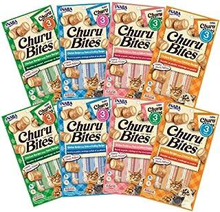 INABA Churu Bites 4 Mix Flavours 8pks, 30 Grams