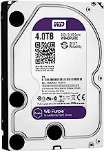 WD Purple 4TB Surveillance Hard Disk - 5400 RPM Class SATA 6 گیگابایت / ثانیه 64 مگابایت حافظه 3.5 اینچ - WD40PURX