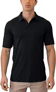 WoolX Summit - Men's Merino Wool Polo Shirt - Short Sleeve - Lightweight - Breathable