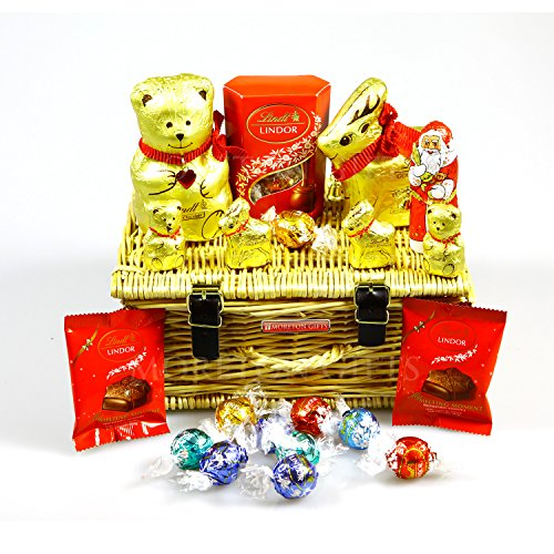 Lindt Chocolate Small Luxury Christmas Hamper