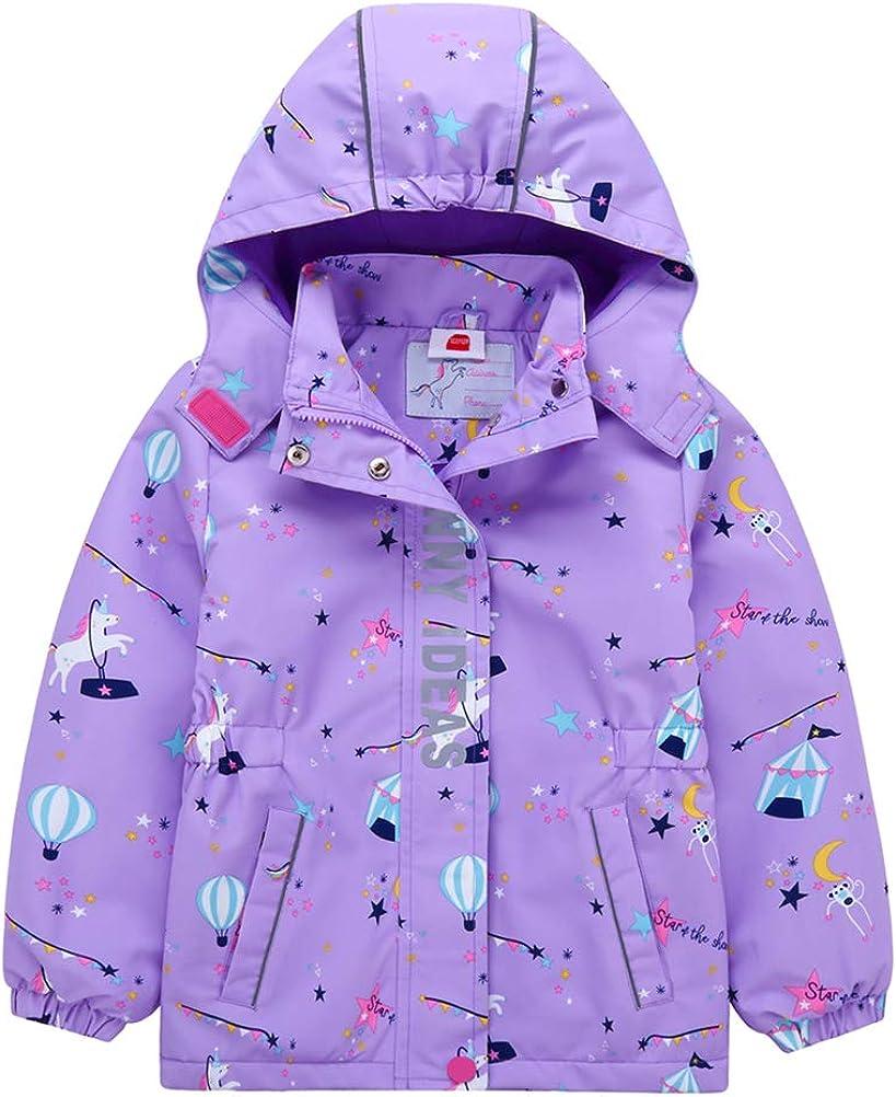 Zonesome Girls' Rain unisex Jackets Lightweight Waterproof 2021new shipping free Raincoats Ho