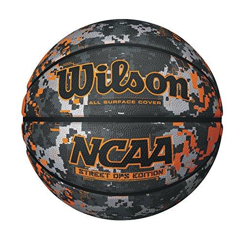 Wilson NCAA Street Ops Camo/Orange Basketball, Official Size