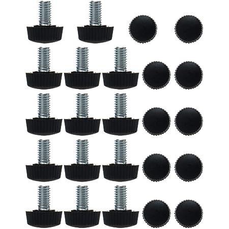 Schaft 50mm Runde Basis Einstellbar Treppenhandlauf Halterung de sourcing map 2 St/ücke 12mm D